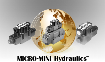 For over two decades, MICRO-MINI Hydraulics™ has provided North America (and now the world) with high quality and reliable directional control valves, assemblies, and other components.